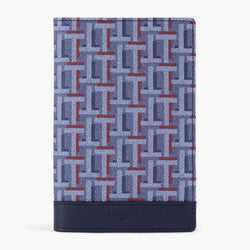 Camille passport holder in coated canvas - Le Tanneur