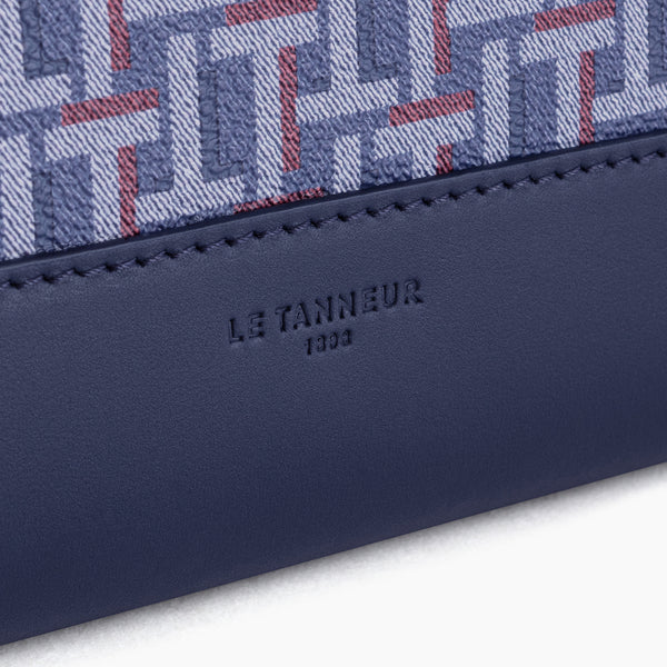 "13"" Camille Coated Canvas Computer Pouch - Le Tanneur"