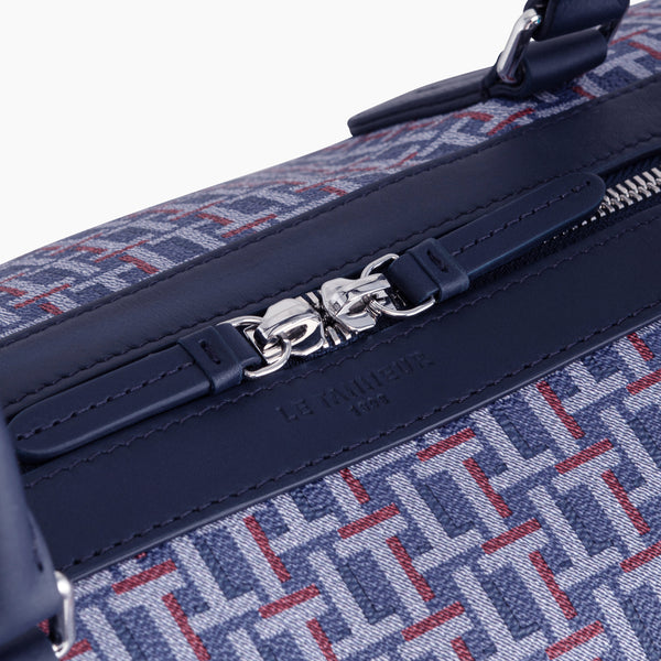 Camille 24-hour travel bag in coated canvas - Le Tanneur