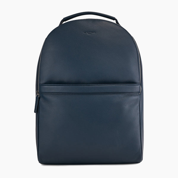 Charles pebbled leather zipped backpack - Le Tanneur
