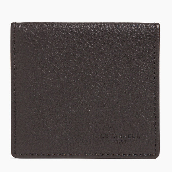Charles pebbled leather box wallet - Le Tanneur