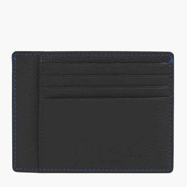 Charles pebbled leather wallet - Le Tanneur
