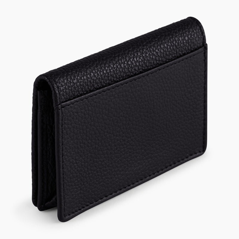 Business card holder Charles pebbled leather - Le Tanneur