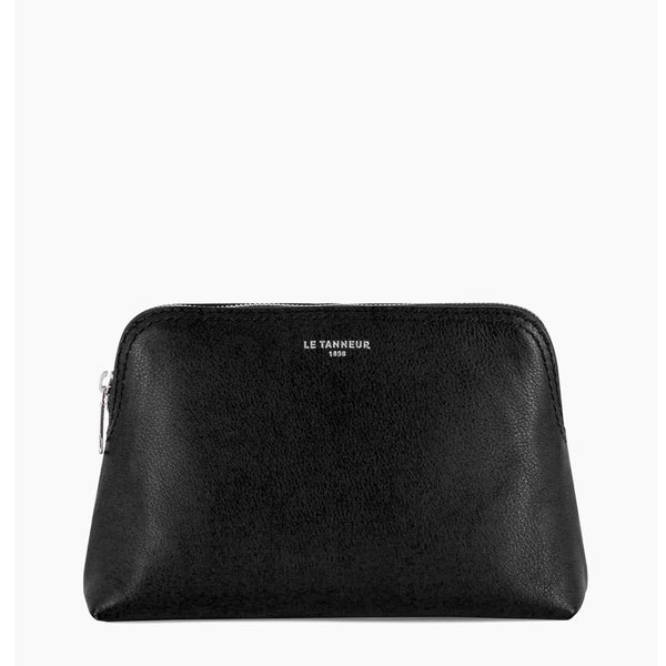 Small toilet pebbled leather bag - Le Tanneur