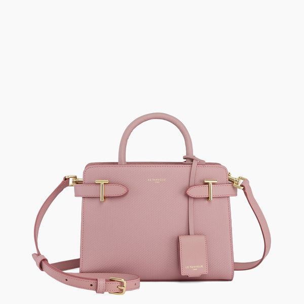 Emilie small leather handbag - Le Tanneur