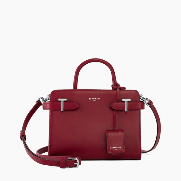Emilie smooth leather small handbag Emilie - Le Tanneur