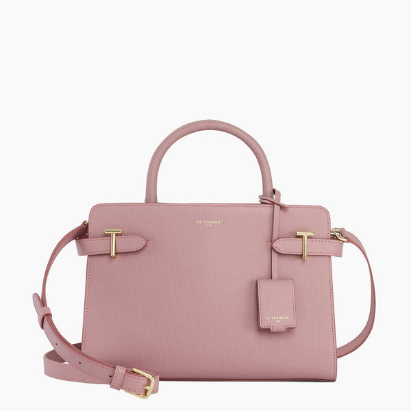 Medium leather handbag Emilie model - Le Tanneur