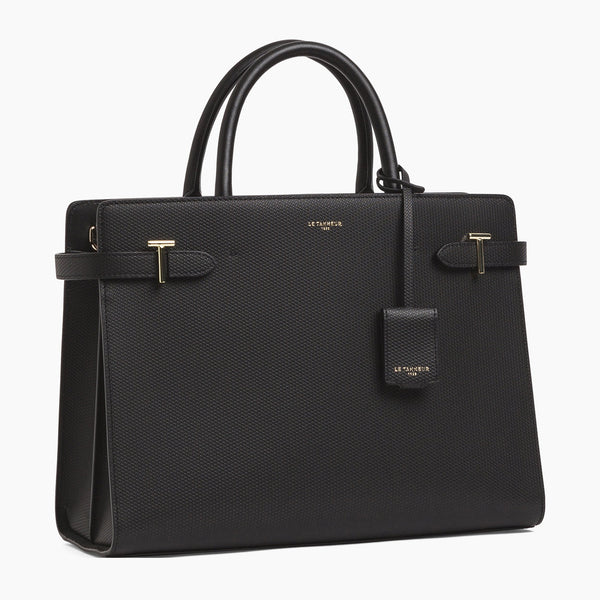 Emilie large leather handbag - Le Tanneur