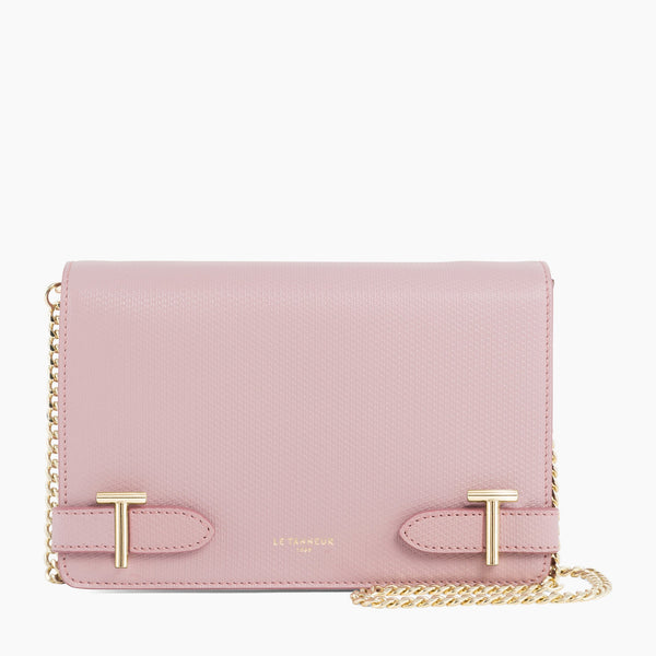 Emilie small leather shoulder bag - Le Tanneur