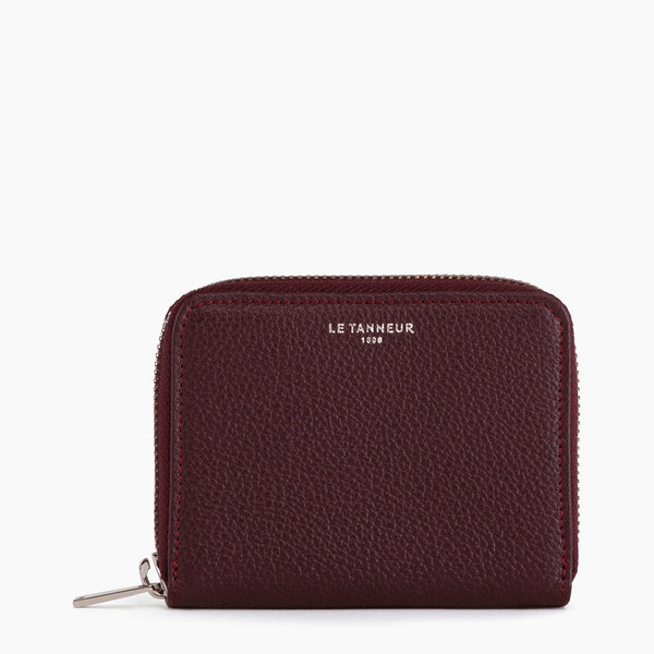 Wallet Emilie pebbled leather - Le Tanneur