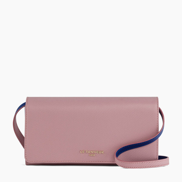 Emilie flap pouch in leather - Le Tanneur