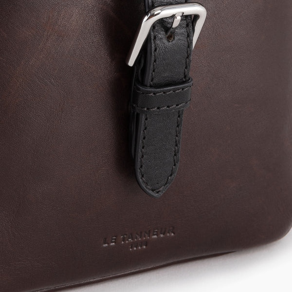 Gabriel's small oiled leather satchel - Le Tanneur