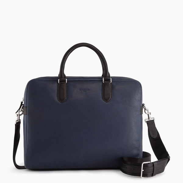 "Gabriel 14"" oiled leather briefcase - Le Tanneur"