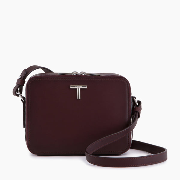 Small shoulder bag Gisèle smooth leather - Le Tanneur