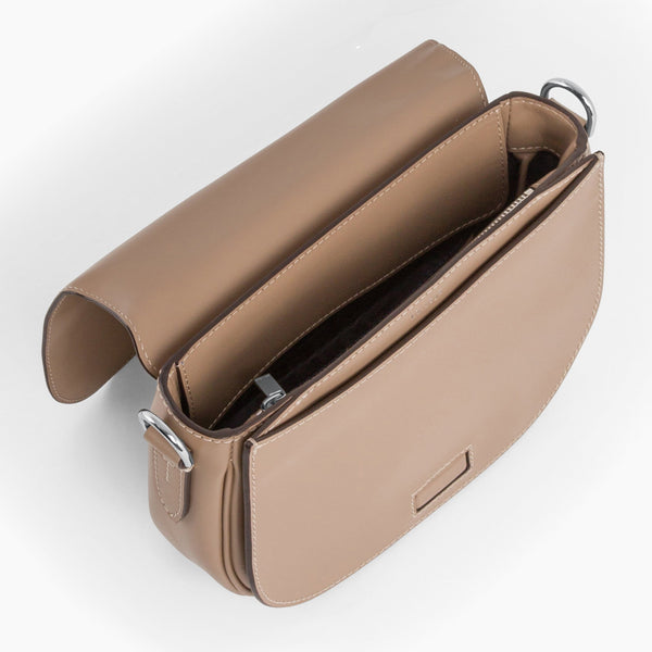Gisèle smooth leather small pouch - Le Tanneur
