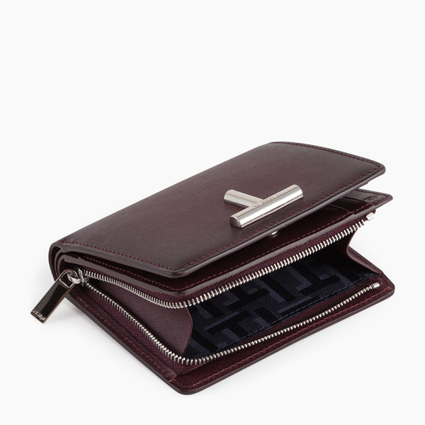 Small wallet Gisèle smooth leather  - Le Tanneur