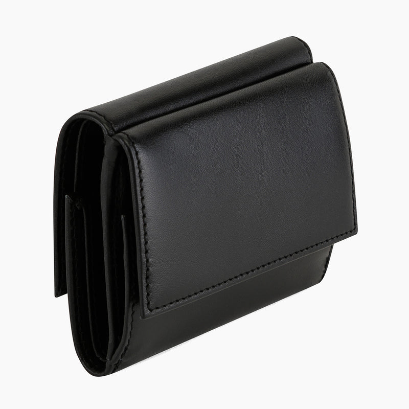 Honoré smooth leather flap wallet - Le Tanneur