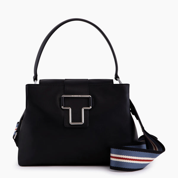 Iris smooth leather small handbag - Le Tanneur