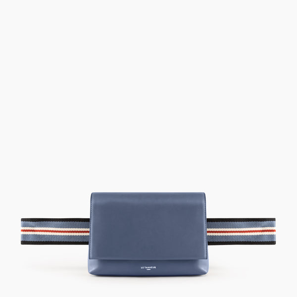Iris smooth leather Belt Bag - Le Tanneur