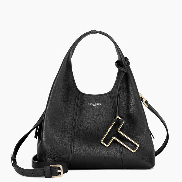 Juliette pebbled leather Small Handbag - Le Tanneur