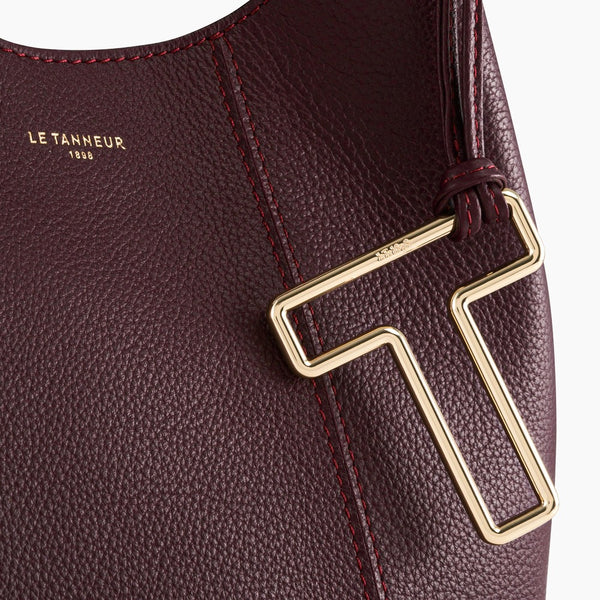 Juliettepebbled leather 's little purse - Le Tanneur