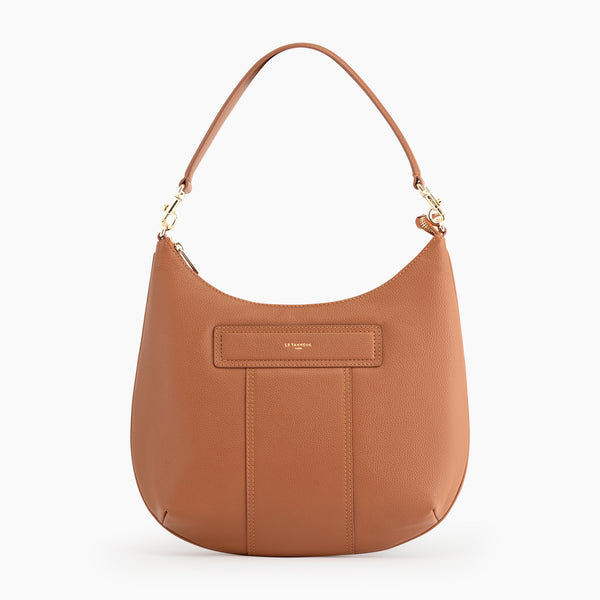 Judith pebbled leather hobo bag - Le Tanneur