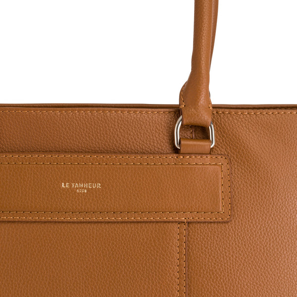 Judithpebbled leather 's big tote bag - Le Tanneur