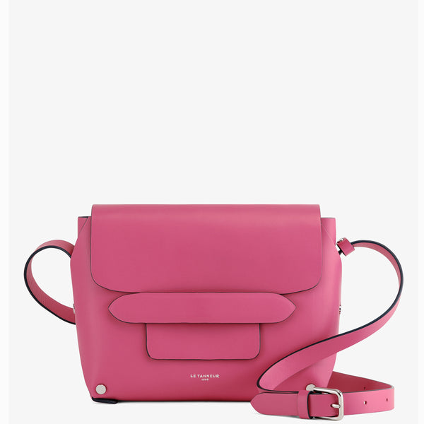 Justine smooth leather Small Shoulder Bag - Le Tanneur