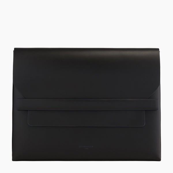 Justin smooth leather A4 Wallet - Le Tanneur