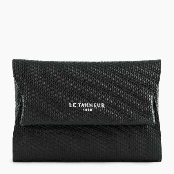 Men's gift box: Justin's monogrammed leather key ring and card holder - Le Tanneur
