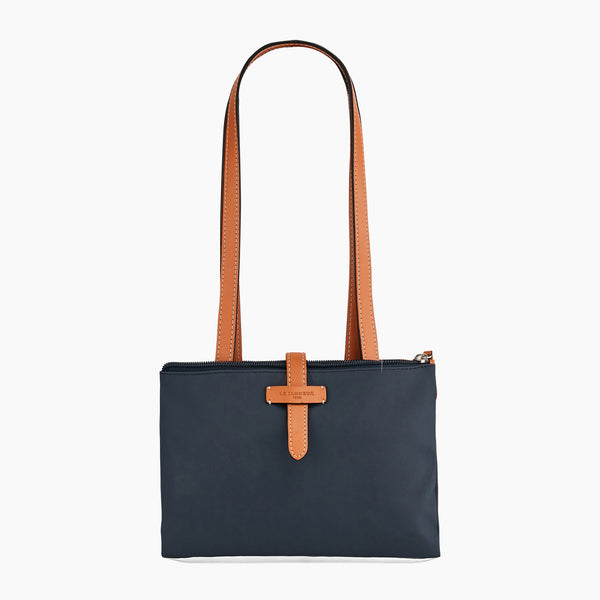Large handbag Charlie smooth leather - Le Tanneur