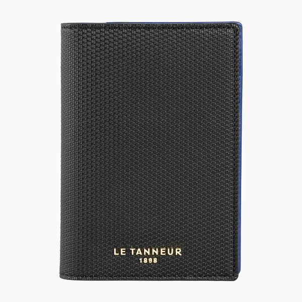 Lise monogrammed leather passport holder - Le Tanneur