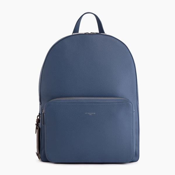 Emile pebbled leather backpack - Le Tanneur
