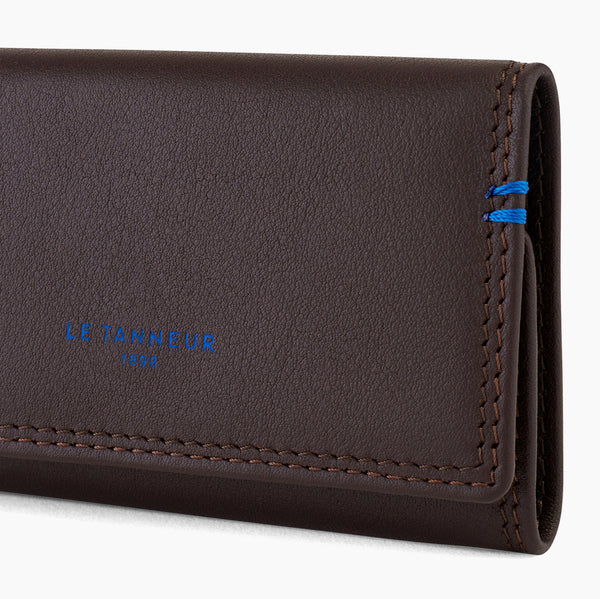 Martin smooth leather key case - Le Tanneur