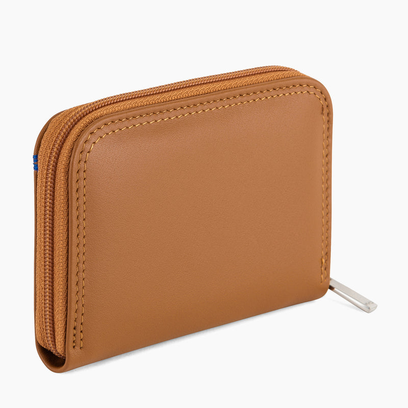 Martin smooth leather zipped wallet - Le Tanneur