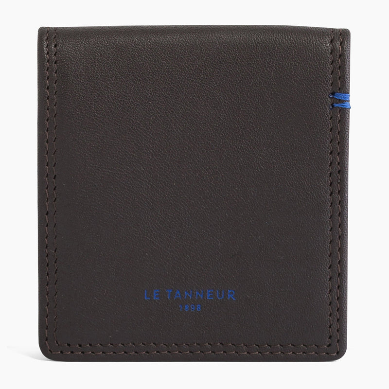 Martin smooth leather box wallet - Le Tanneur