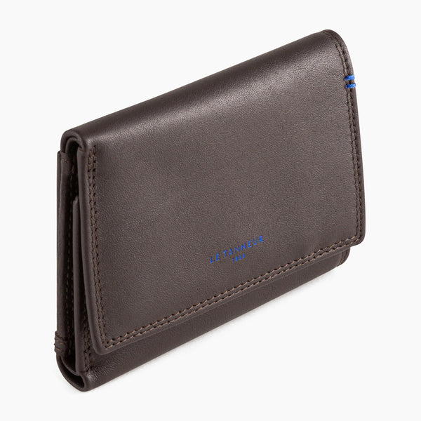Big Martin smooth leather wallet - Le Tanneur