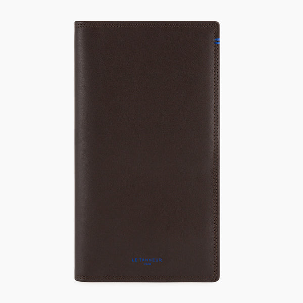 Martin smooth leather checkbook holder - Le Tanneur