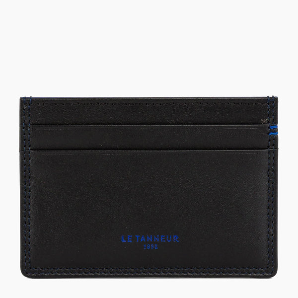 Martin smooth leather card case - Le Tanneur