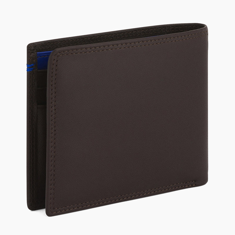2 in 1 card case with Martin smooth leather money pocket - Le Tanneur