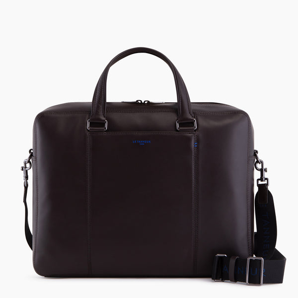 "Martin smooth leather 14"" document case - Le Tanneur"