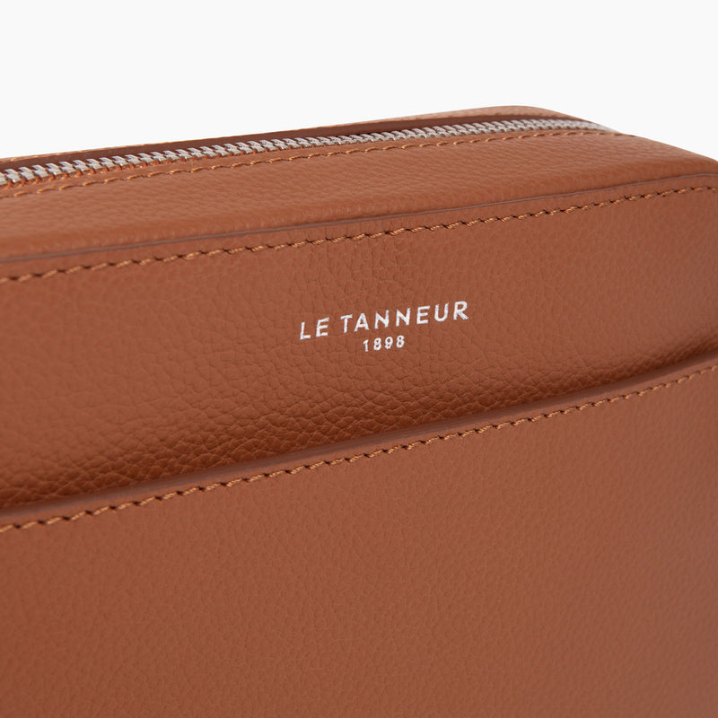 Emilepebbled leather 's little satchel - Le Tanneur