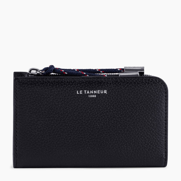Nathanpebbled leather 's key case - Le Tanneur