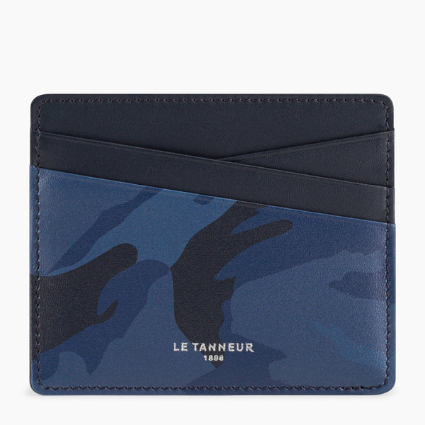 Nathanpebbled leather 's cardholders - Le Tanneur