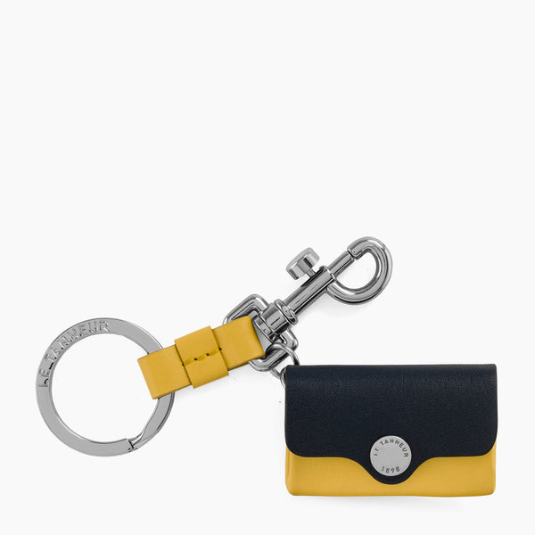 Key ring - Sans Couture smooth leather Le Tanneur