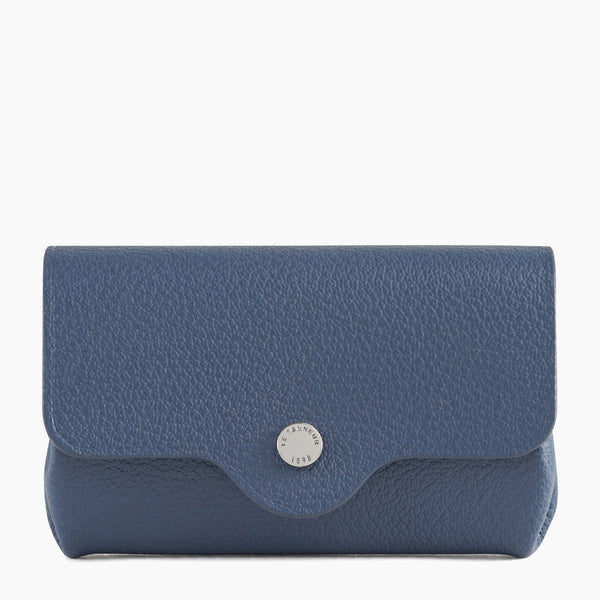 Gift box: key ring and wallet Sans couture pebbled leather  - Le Tanneur