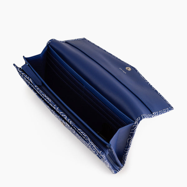 Charlottesmooth leather 's big wallet - Le Tanneur
