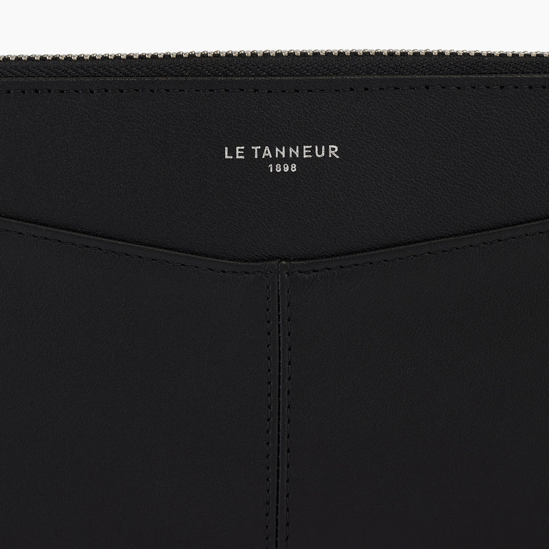 Charlotte smooth leather zipped companion - Le Tanneur