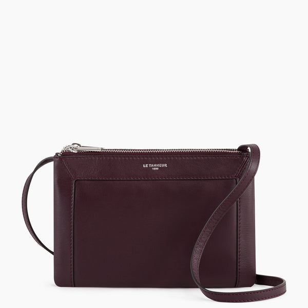 Small shoulder bag Pauline smooth leather  - Le Tanneur