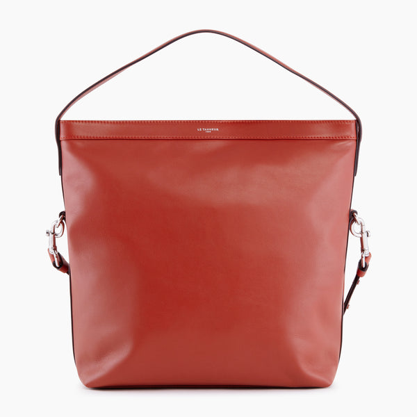 Paulinesmooth leather 's big hobo bag - Le Tanneur